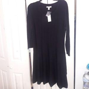 Dana Buchman Black Dress L
